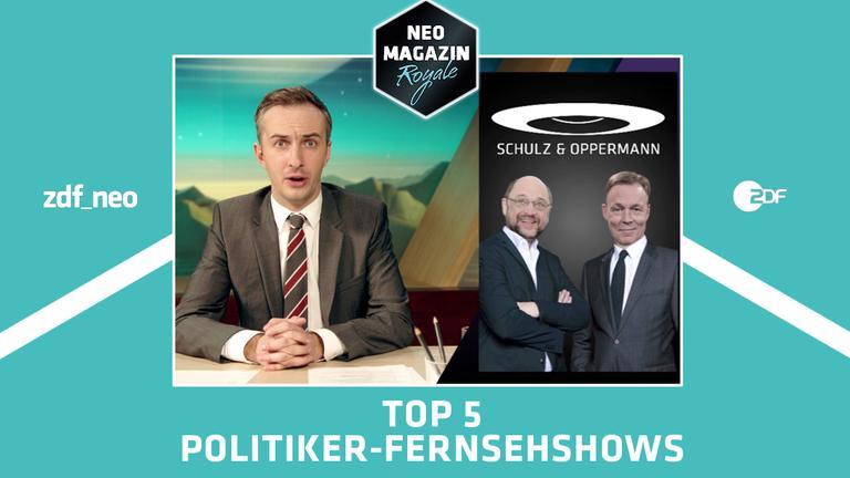 Jan Böhmermann präsentiert die Top 5 der Politiker Fernsehformate