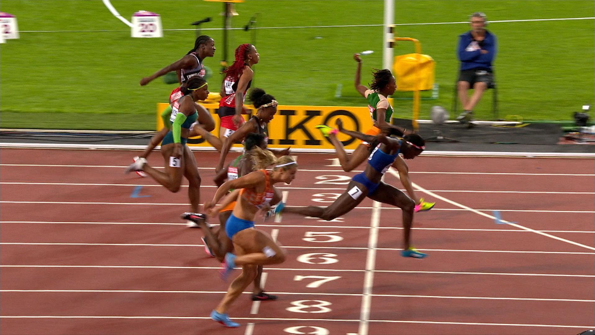 Die 100 Meter Der Frauen Zdfmediathek