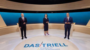 Wahlen Im Zdf - Bundestagswahl - Das Triell - Dreikampf Ums Kanzleramt