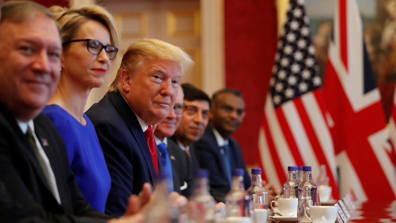 Handelsabkommen zwischen USA und Großbritannien