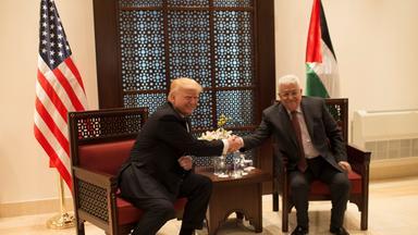Trump trifft Abbas
