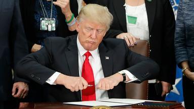 Donald Trump hat neue Steuerpläne.