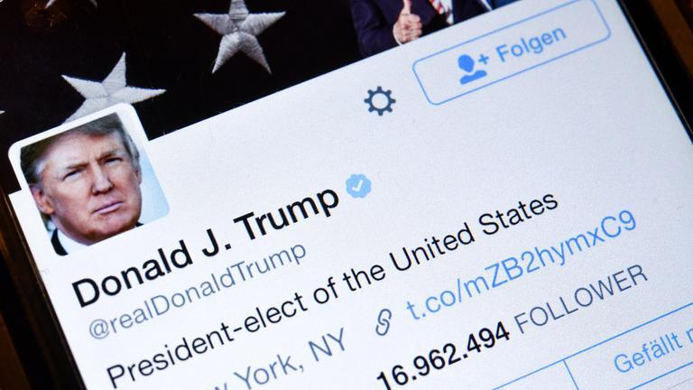 Twitterprofil Trump