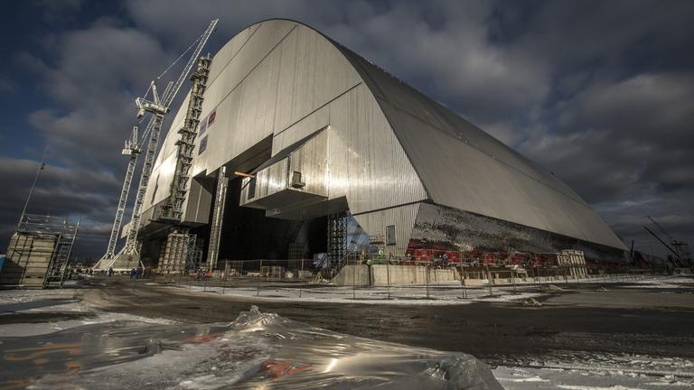 Sarkophag für Tschernobyl
