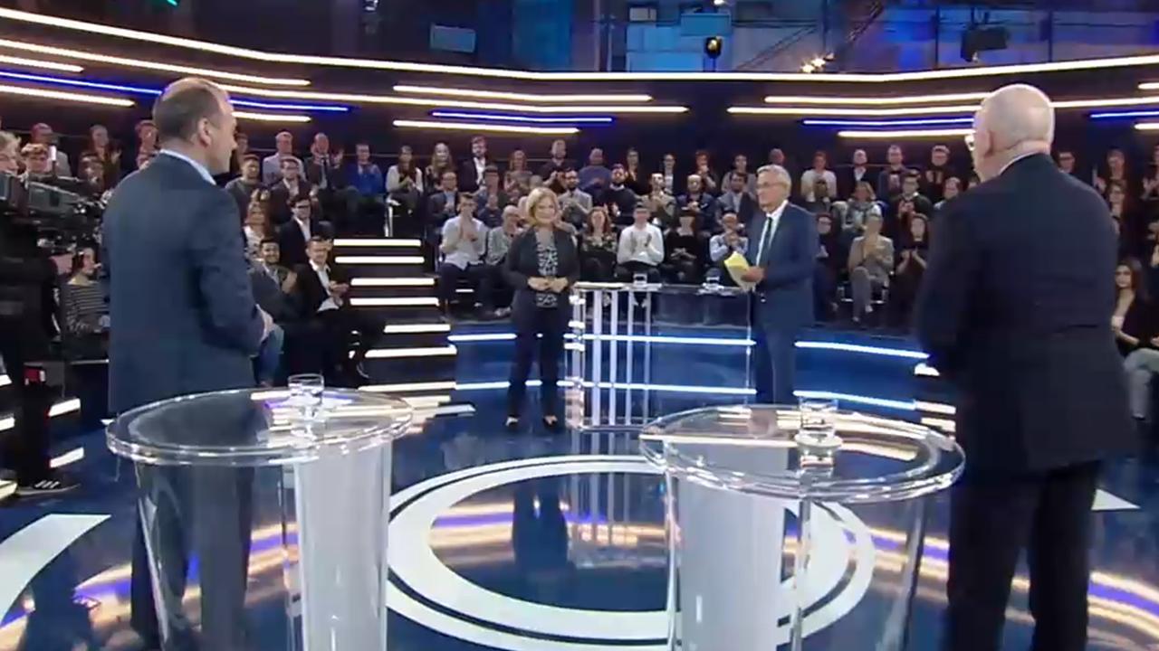 Jetzt live: Weber und Timmermans im #tvDuell