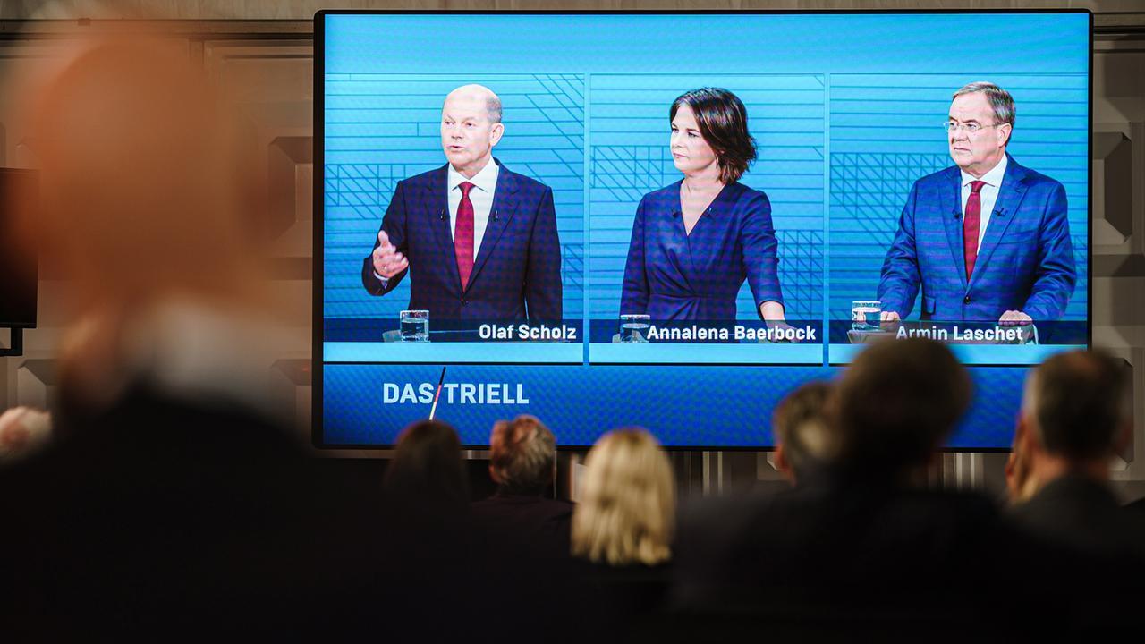 Pressestimmen zum Triell Laschet verpasst seine Chance   ZDFheute