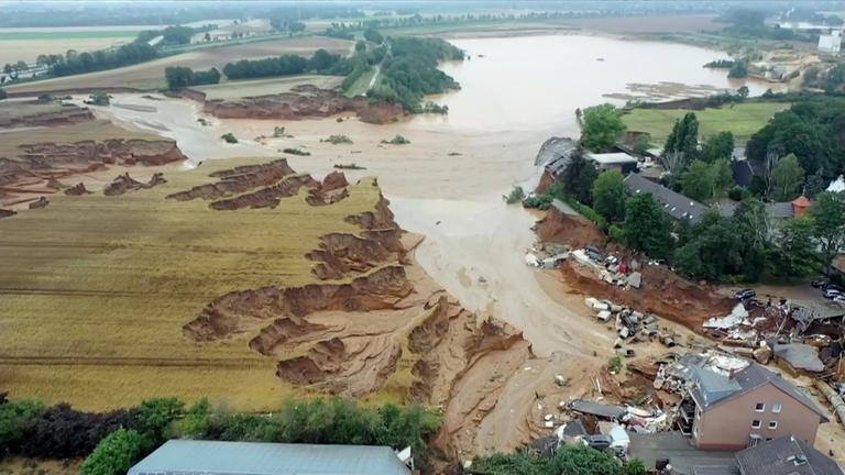 ueberschwemmungen in indien