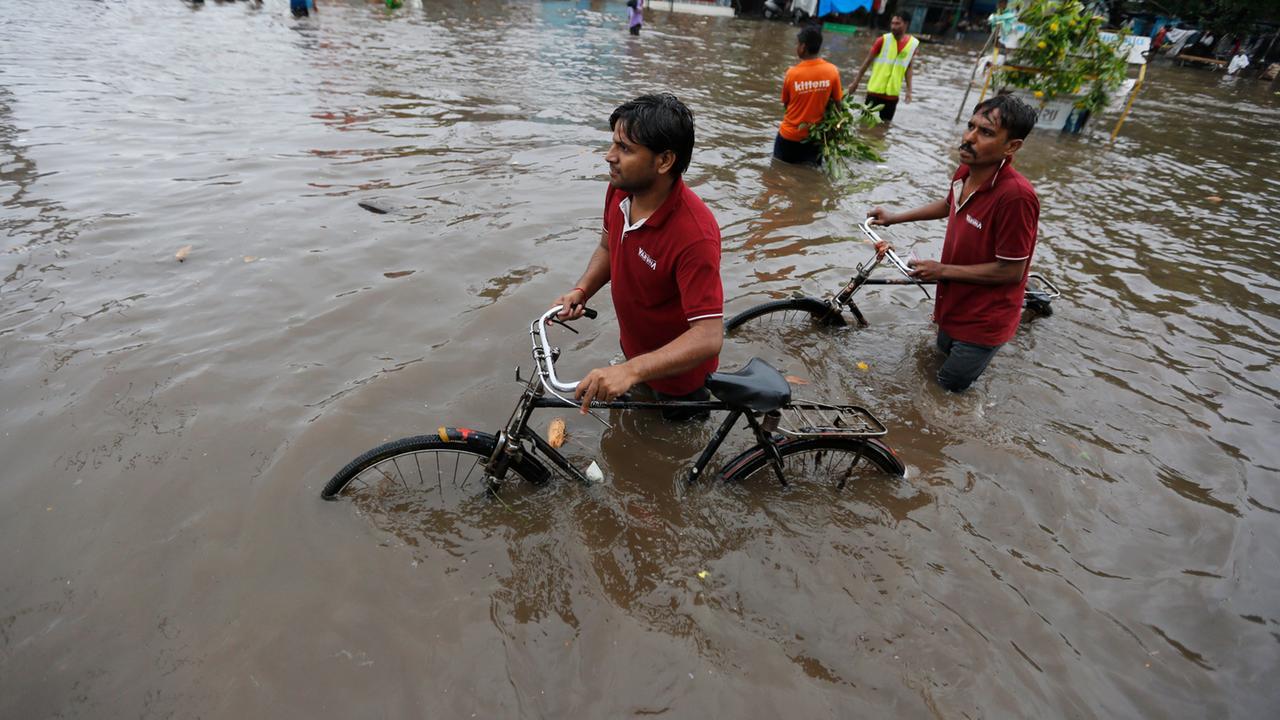 überschwemmung Heute