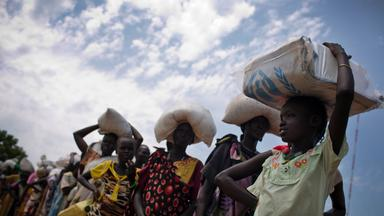 akute hungersnot im suedsudan