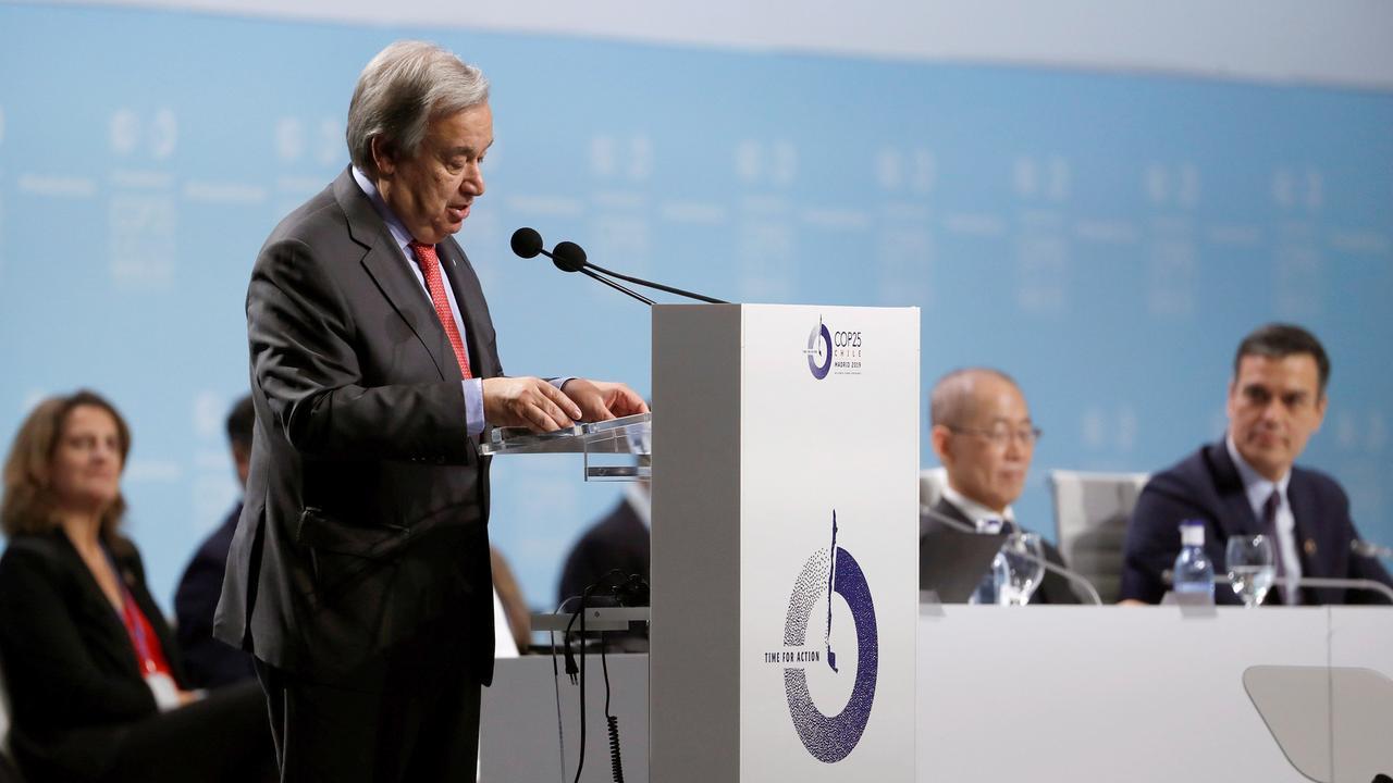 """Auftakt der Klimakonferenz: Guterres mahnt: """"Krieg gegen Natur beenden"""""""
