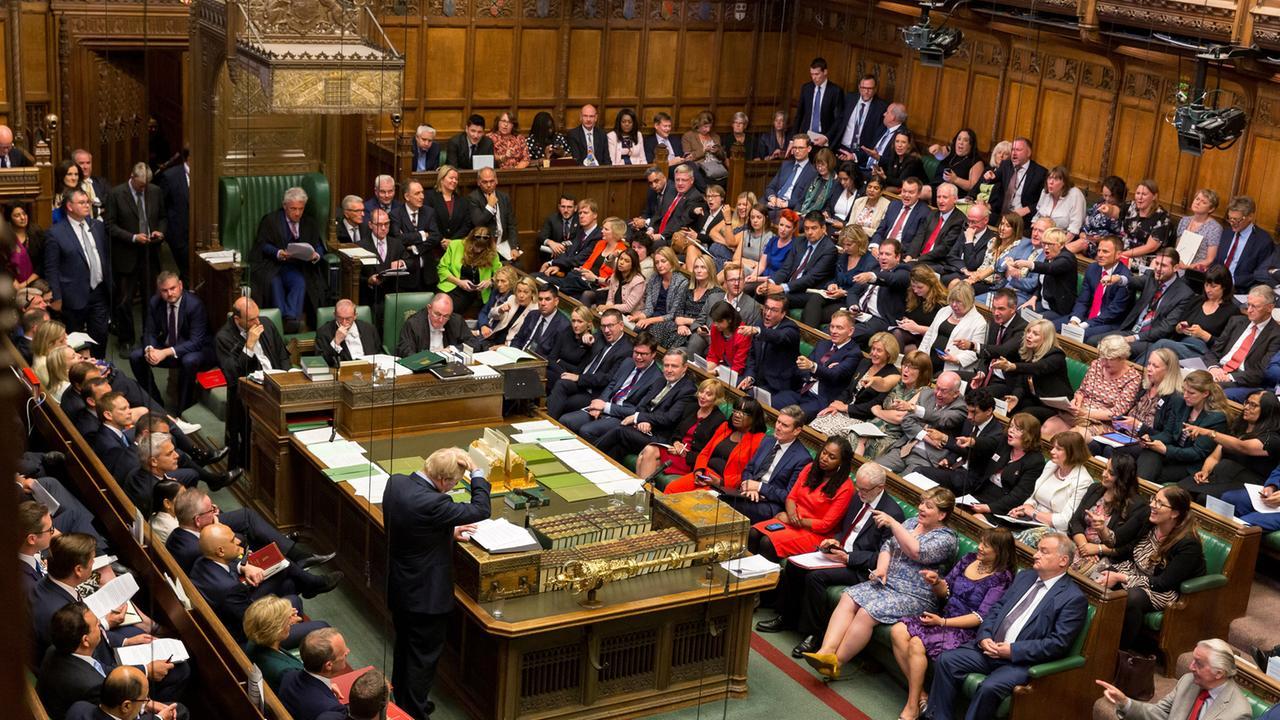 Zwangspause Parlament