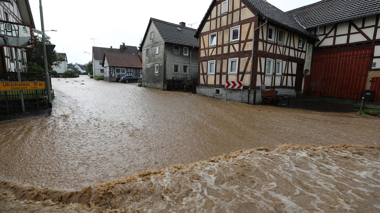Unwetter In Baden Württemberg