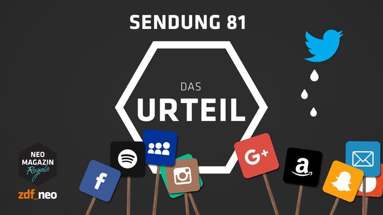 Jan Böhmermann spricht das Urteil über das NEO MAGAZIN ROYALE Folge 81