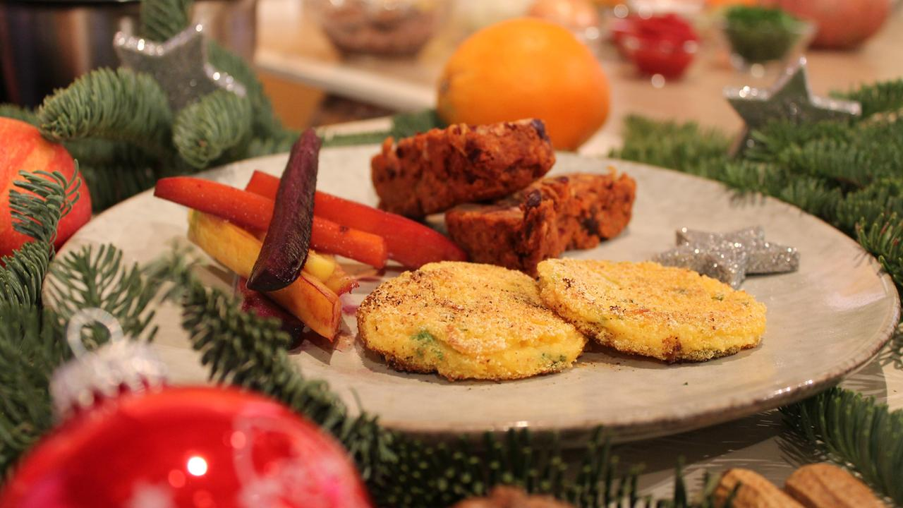 Veganes Weihnachtsmenü.Veganer Weihnachtsbraten Zdfmediathek