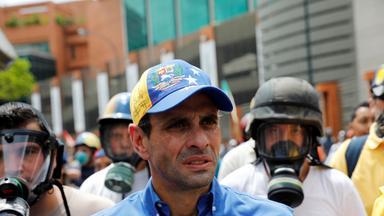 Venezuela: Oppositionsführer verletzt