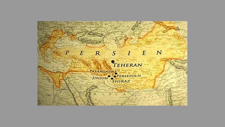 Persien Karte.Persien Die Erbschaft Des Feuers Zdfmediathek