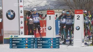 Zdf Sportextra - Biathlon: Verfolgung Der Herren Komplett