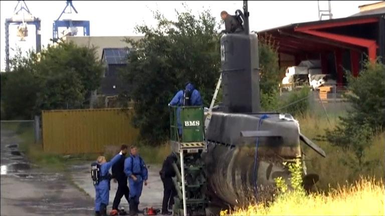 geborgenes U-Boot