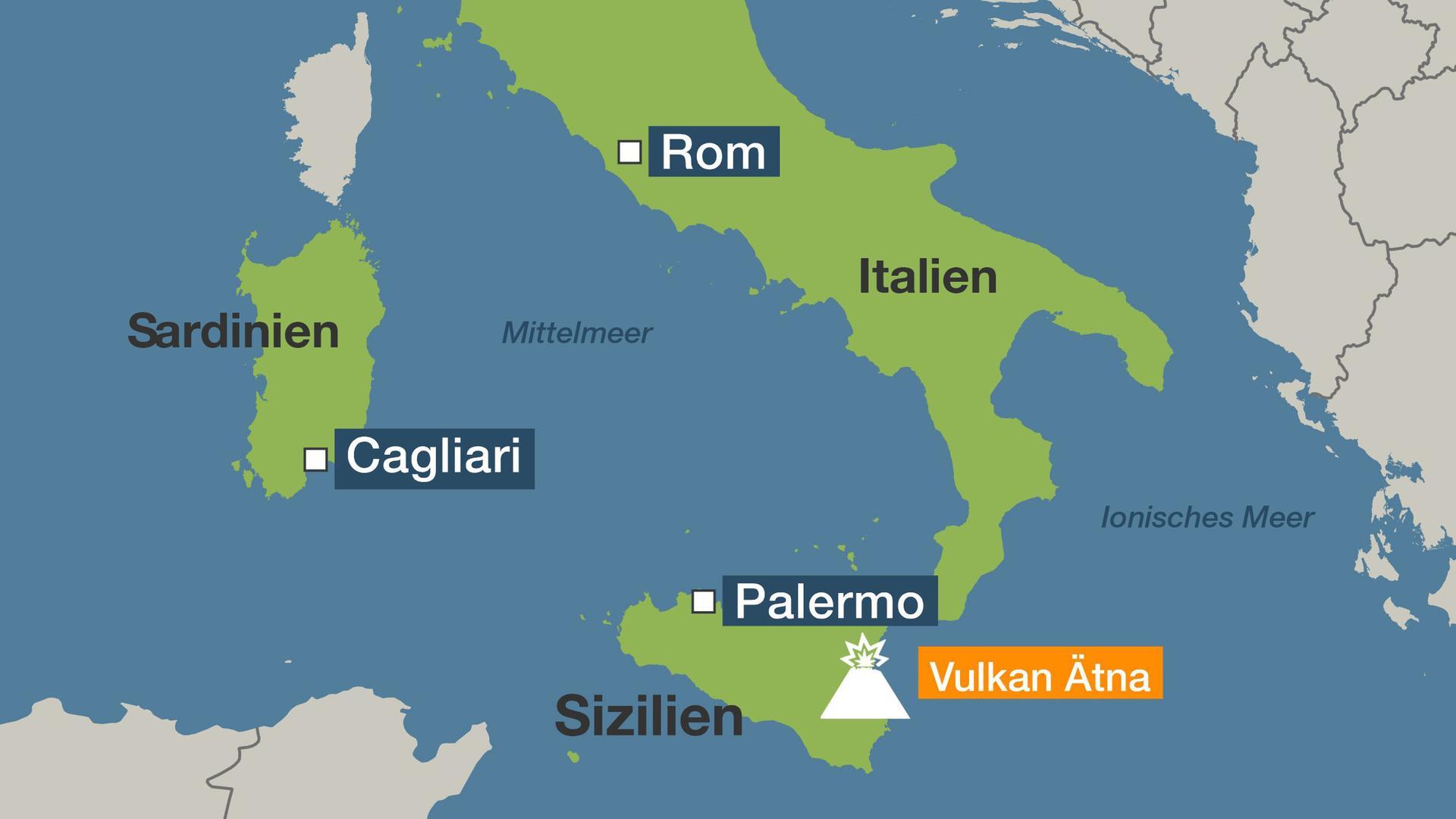 Vulkane Der Erde Karte.Die Sizilianer Und Ihr ätna Wir Lieben Und Respektieren Ihn