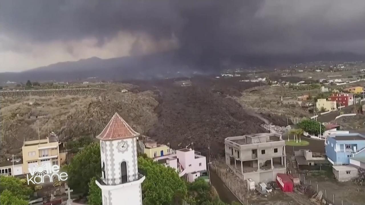 Wegen Vulkanasche: Flugverkehr nach La Palma unterbrochen