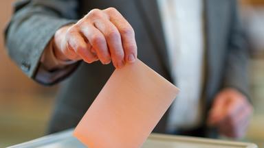 Wahlen im Saarland.