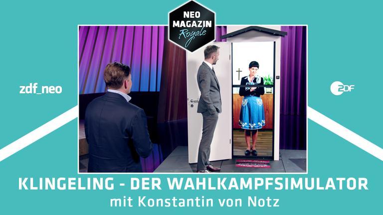 Klingeling der Wahlkampfsimulator mit Konstantin von Notz