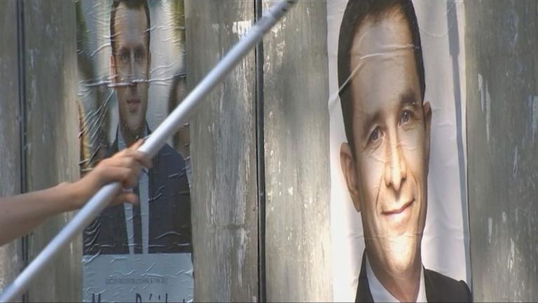 Wahlkampfplakate