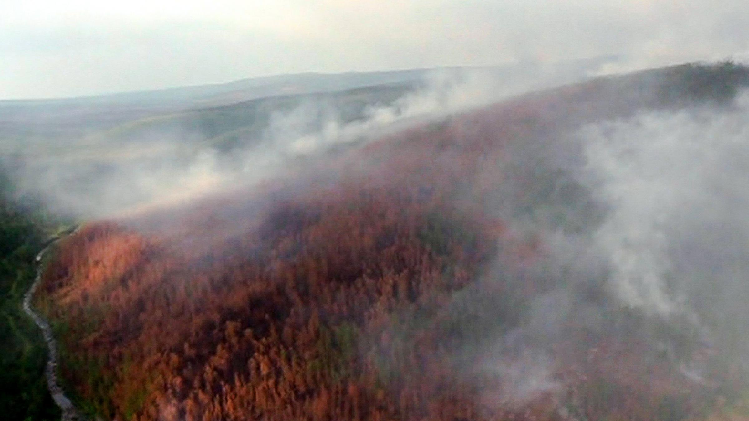 waldbrand sibirien