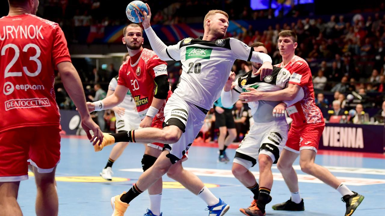 Handball-EM 2020: Weißrussland - Deutschland | Zusammenfassung