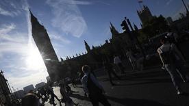 Passanten in London