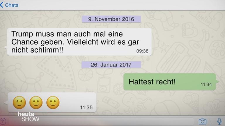 heute-show - Whatsapp