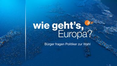 Wahlen Im Zdf - Bundestagswahl - Wie Geht´s Europa?