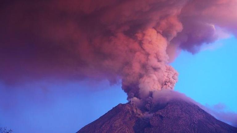 Vulkanausbruch Entstehung
