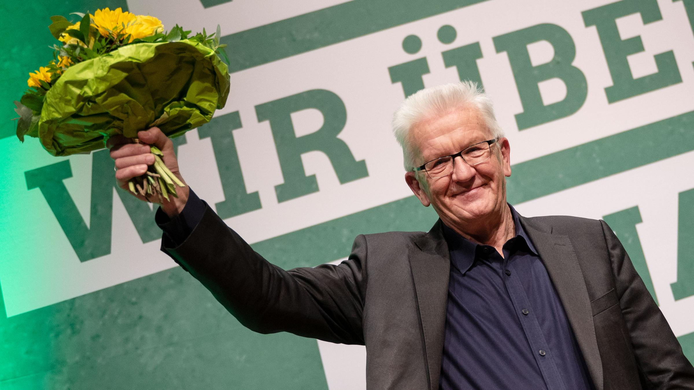 Harter Corona Kurs Kretschmann Wird Grunen Spitzenkandidat Zdfheute