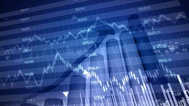 Digitale Börsentafel