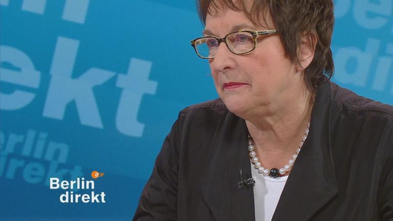 Wirtschaftsministerin Brigitte Zypries (SPD) im Berlin-direkt-Interview