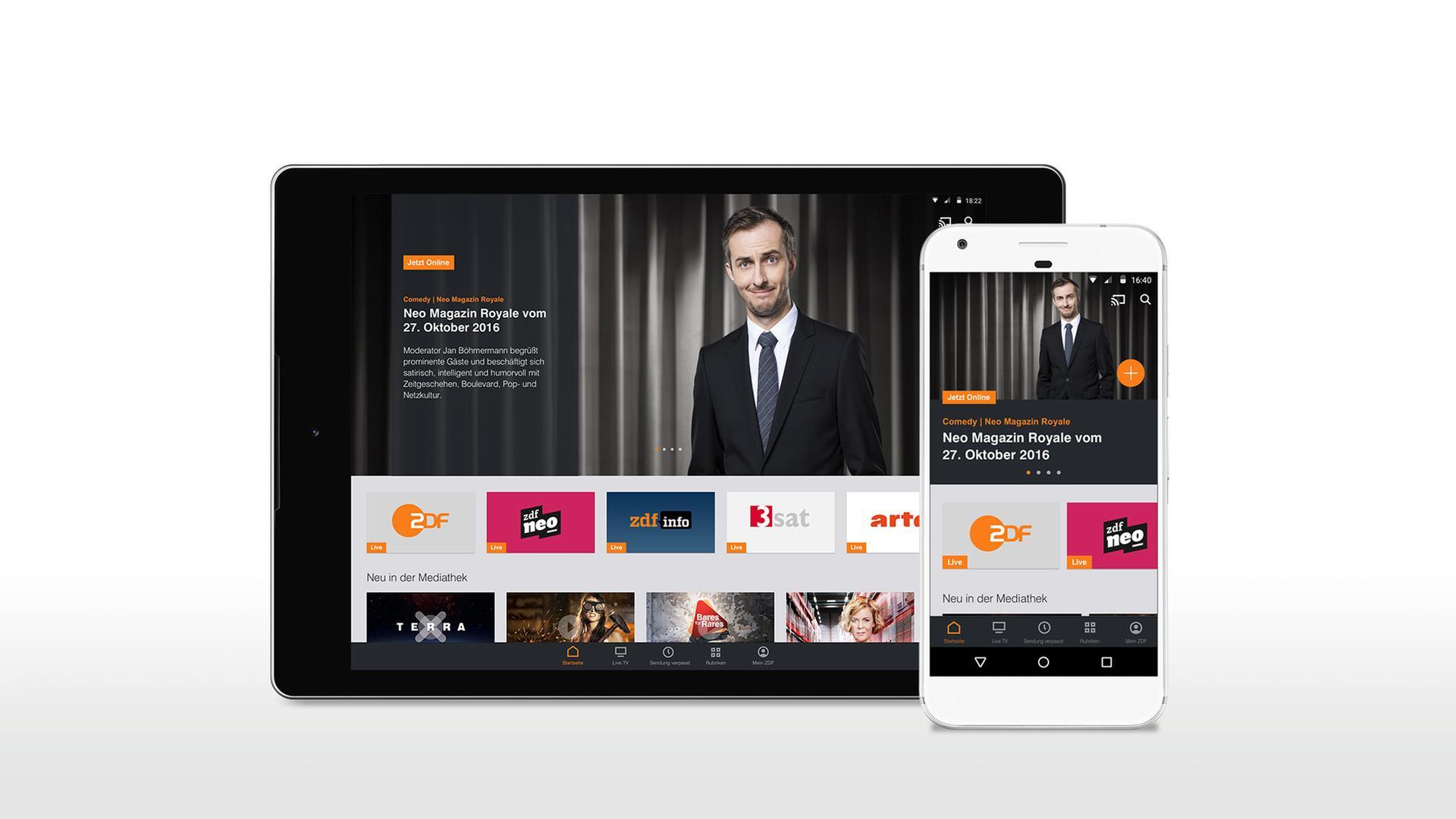 Mobile Angebote Zdf Apps Und Mehr Zdfmediathek