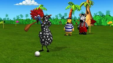 Zigby, Das Zebra - Zigby, Das Zebra: Zigby Und Das Einlochspiel