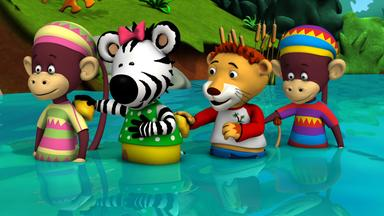 Zigby, Das Zebra - Zigby, Das Zebra: Zigbys Schwimmbad