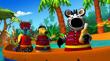 Zigby, Das Zebra - Zigby, Das Zebra: Zigby Und Die Verlorene Kappe