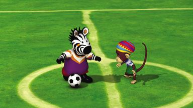Zigby, Das Zebra - Zigby, Das Zebra: Zigbys Fußballmannschaft