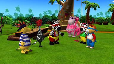 Zigby, Das Zebra - Zigby, Das Zebra: Zigbys Kostümwettbewerb