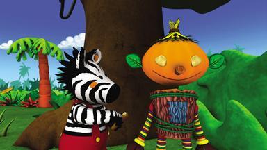 Zigby, Das Zebra - Zigby, Das Zebra: Zigbys Selbstgebastelter Freund