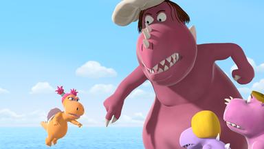 Der Kleine Drache Kokosnuss: Abenteuer Mit Oskar Und Matilda - Der Kleine Drache Kokosnuss: Zoff Am Strand